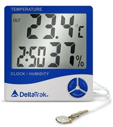 Thermo-Hygrometer-Clock 13309