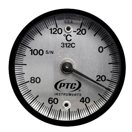 Magnetic Surface Thermometers