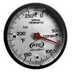 0° to 250°F Rail Surface Thermometer 312FRR