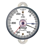 -20° to 250°C Tab Mount Thermometer with Max-Min Hands 313CT1MM