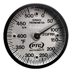0° to 500°F Rail Surface Thermometer 313FRR