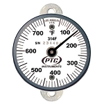 50° to 750°F Tab Mount Surface Thermometer 314FT1