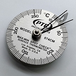 10° to 260°C Spot Check® Thermometer / Max-Min Hands #574CM