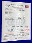 Durometer Certification to ISO 17025