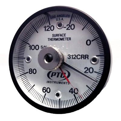 -20° to 120°C Rail Weld Thermometer with Ancillary Hand