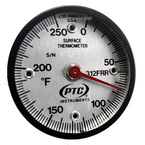 0° to 250°F Rail Weld Thermometer