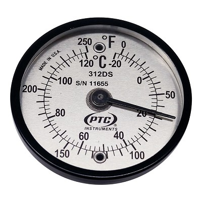 Dual Scale Surface Thermometer