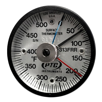0° to 500°F Rail Weld Thermometer