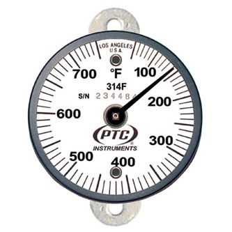 314FT1 Tab Mount Thermometer