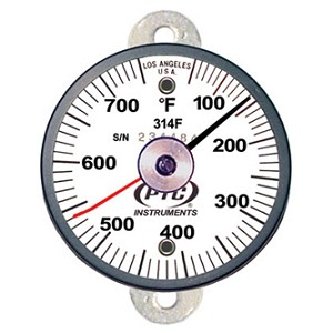 50° to 750°F Tab Mount Surface Thermometer / Ancillary Hand 314FT1L