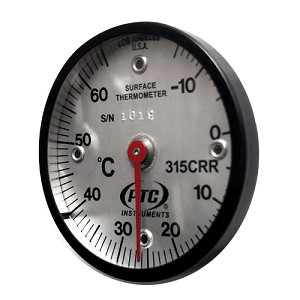 -15° to 65°C Magnetic Rail Thermometer