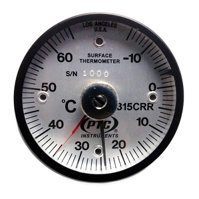 -15° to 65°C Magnetic Rail Thermometer Ancillary Hand