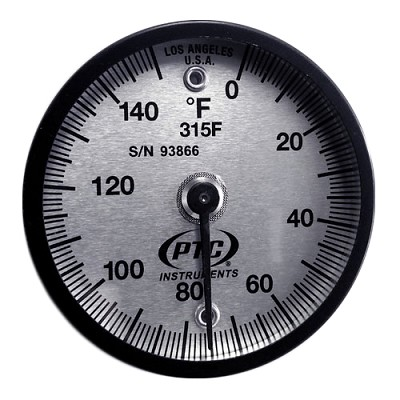 0° to 150°F Magnetic Surface Thermometer
