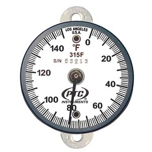 0° to 150°F Tab Mount Surface Thermometer 315FT1