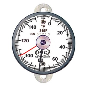 315FT1L Tab Mount Thermometer