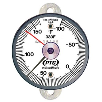 330FT1L Tab Mount Thermometer