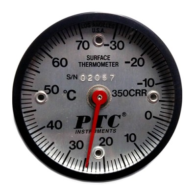 -30° to 70°C Rail Thermometer
