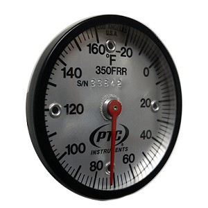 -20° to 160°F Rail Thermometer 350FRR