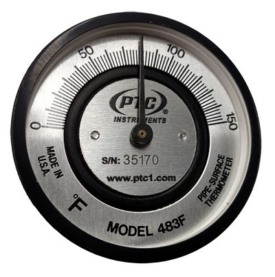 Pipe Surface Thermometer